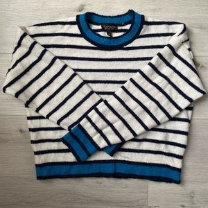 Topshop Striped Sweater